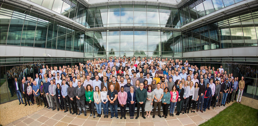 Nanopore staff group photo