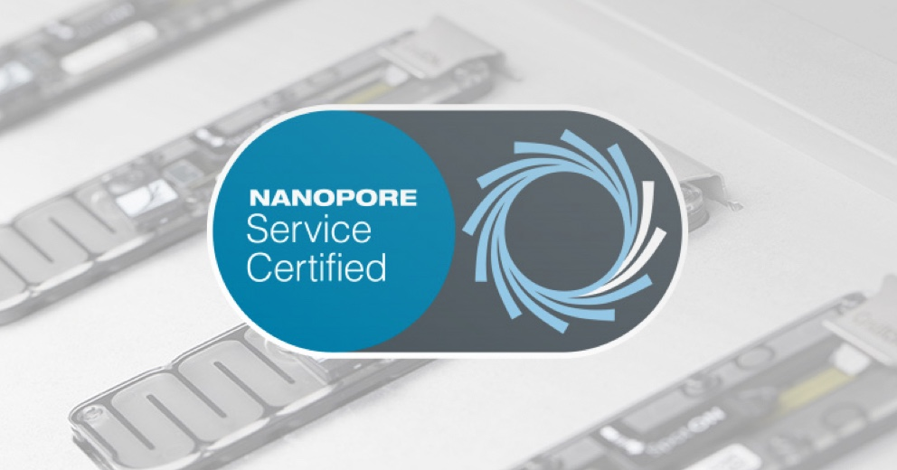 Certified nanopore sequencing service providers