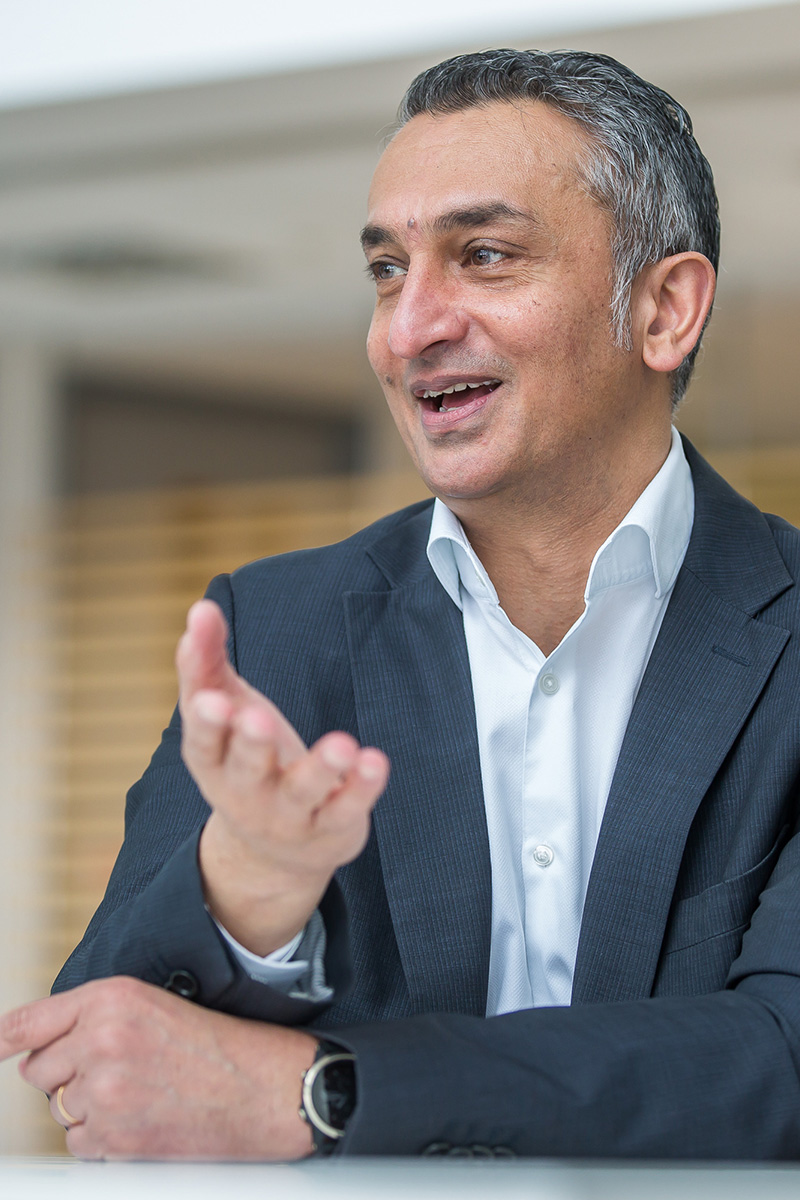Dr Gordon Sanghera - Chief Executive Officer