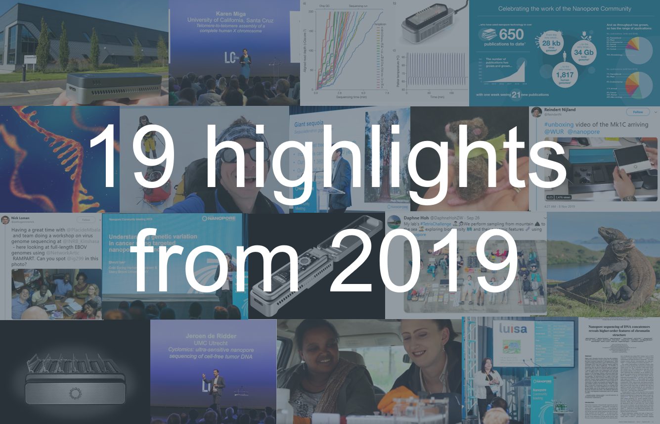 Oxford Nanopore 19 highlights from 2019