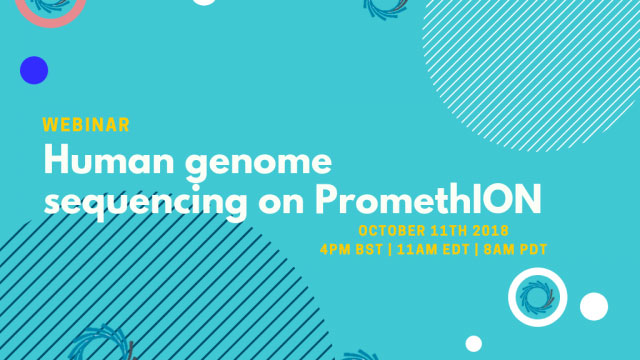 Human genome sequencing on PromethION webinar